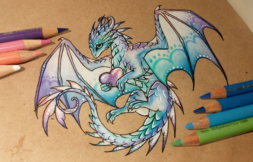 magic love dragon by alviaalcedo deviantart com on deviantart