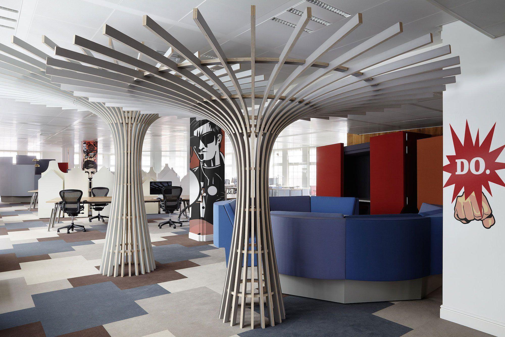 JWT Amsterdam fice by Koudenburg & Elsinga CAANdesign