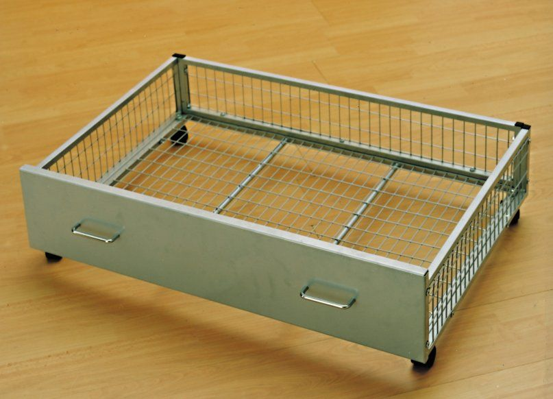 Underbed Drawers Organizing Storage Clutter Platform Bed