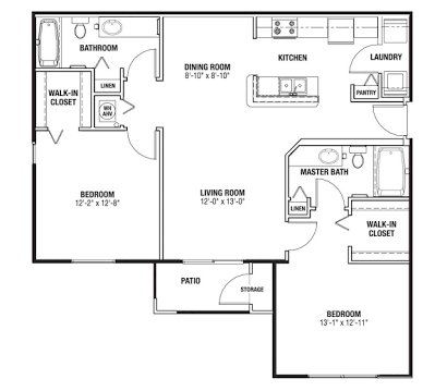 Master Bedroom With Walk In Closet And Bathroom Floor Plans Google Search Bathroom Floor Plans Floor Plans Master Bedroom Furniture Layout