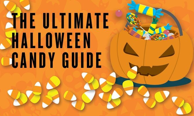 Infographic The Ultimate Halloween Candy Guide Pinterest - halloween candy treat ideas