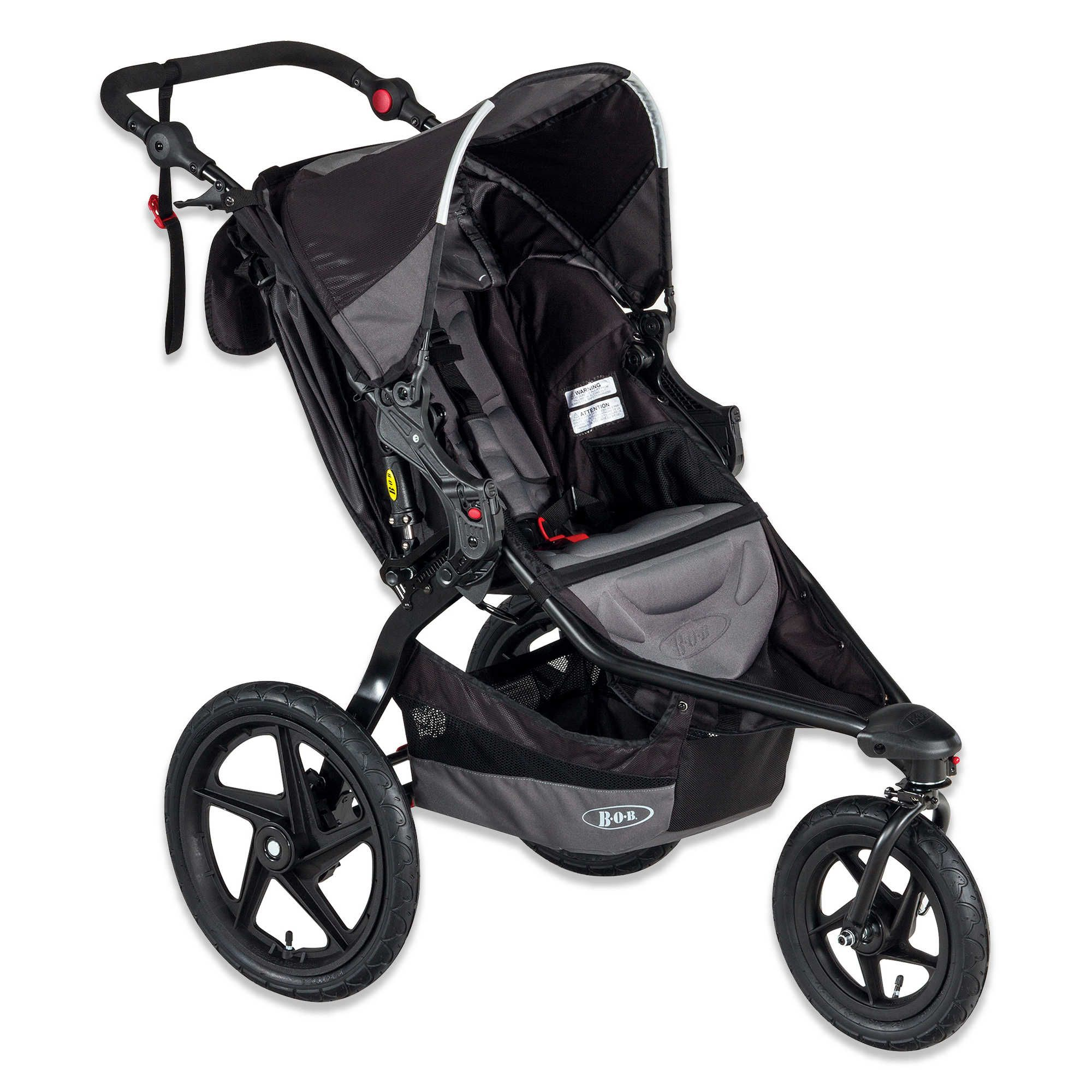 The REVOLUTION FLEX Single Stroller is perfect for even the most intense sport experience while providing