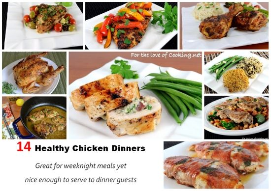 Parade's Community Table ~ 14 Healthy Chicken Dinners: Great for Weeknights, Yet Nice Enough for Guests