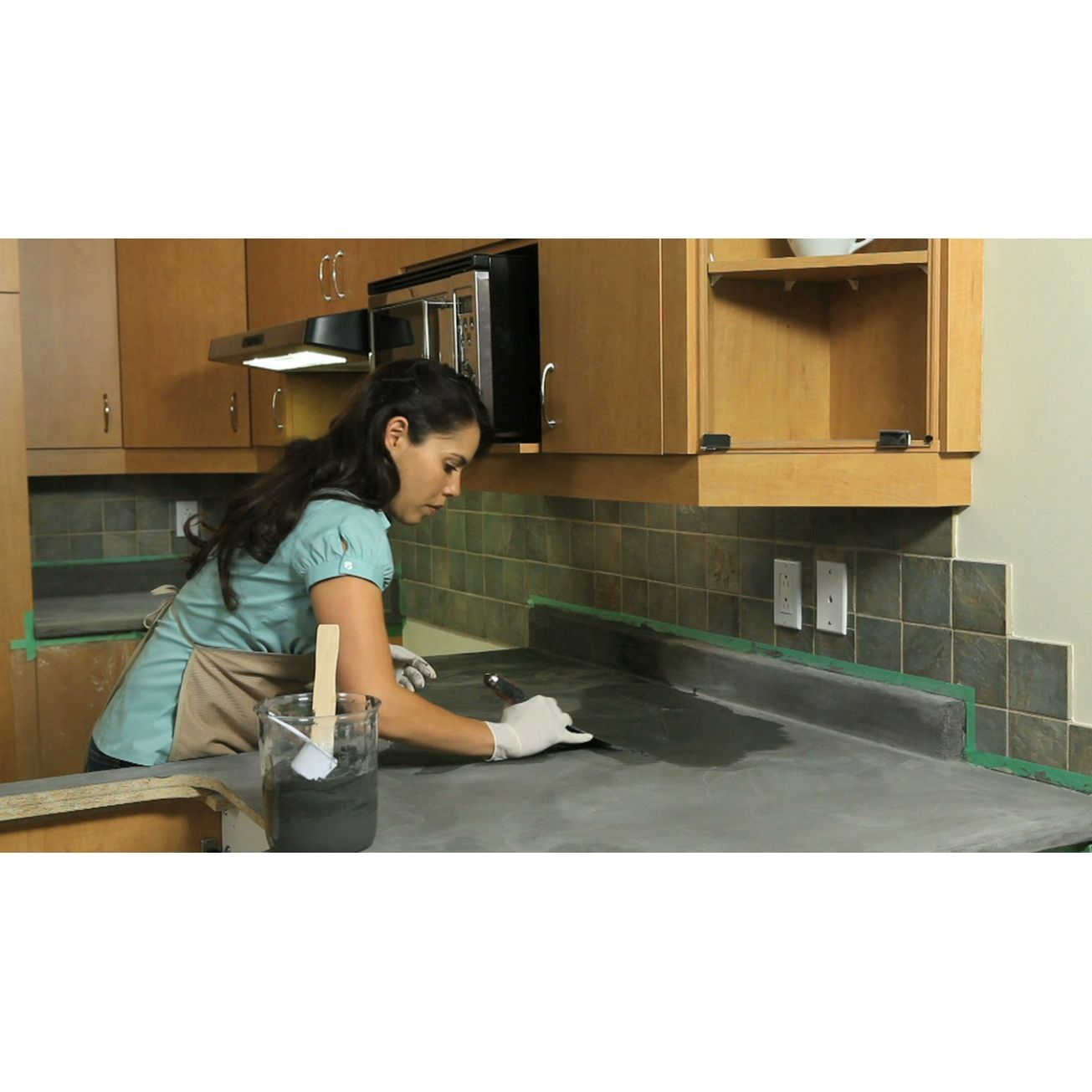 Encore Complete Countertop Refinishing System In Slate Specialty