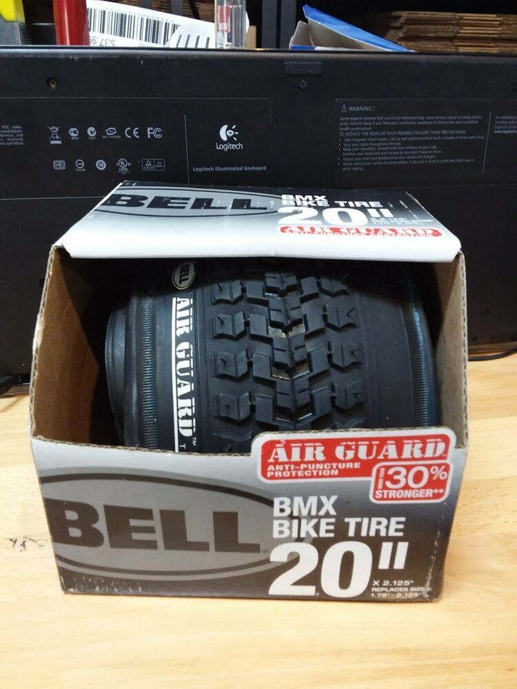 """Bell Mountain Bike Tire 20"""" X 2.10"""" Air Guard Anti-Puncture Protection"""