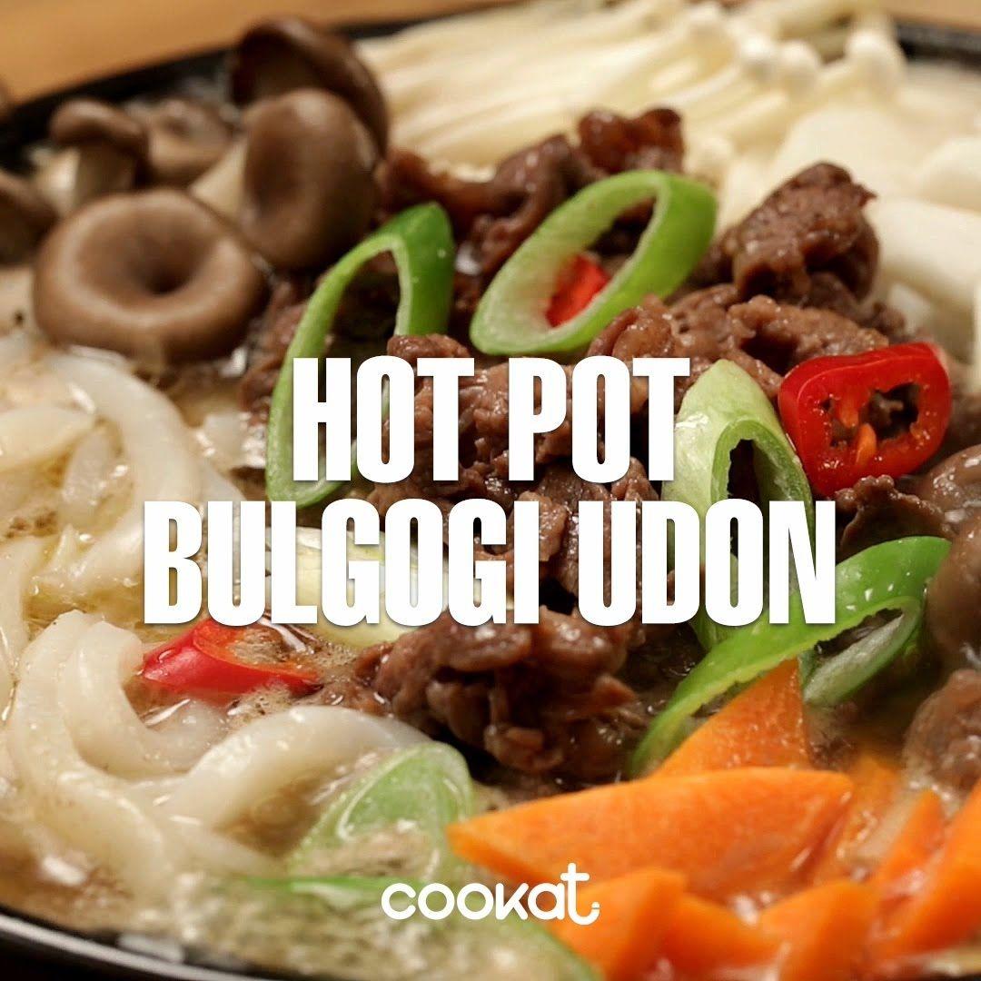COOKAT Hot Pot Bulgogi Udon | Thịt, Thịt lợn