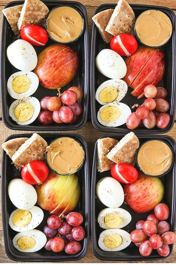 Diy Starbucks Protein Bistro Box | Clean Eating Recipes #cleaneatingforbeginners