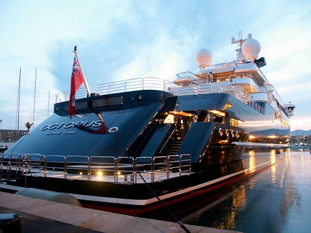 Lurssen Yachts Octopus 126m Yacht Network Bateaux De Luxe