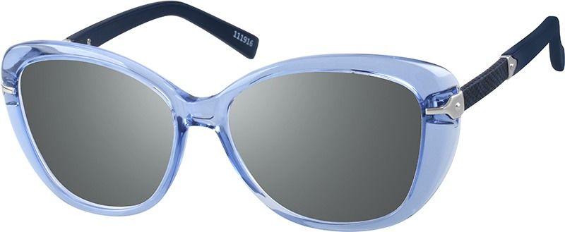 acc37e11dcb Blue Premium Oval Sunglasses  111916