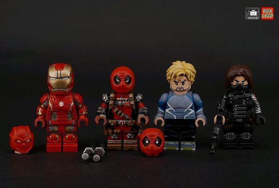Marvel Sculpted Custom Minifigures | Lego Customs | Lego custom