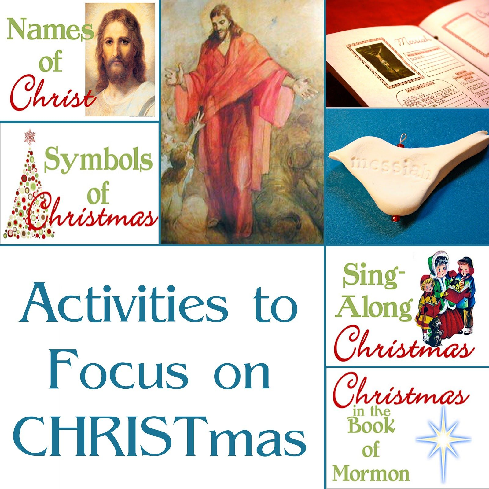 Activities to help our family focus on CHRIST this Christmas.