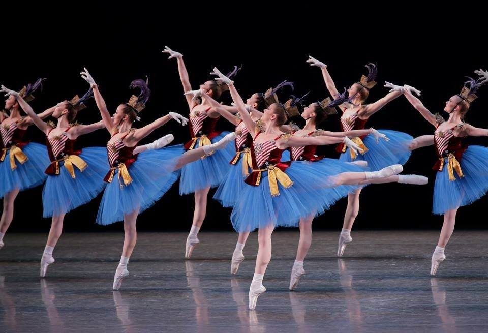 New York City Ballet S Stars And Stripes City Ballet Ballet Inspiration Ballet Beautiful