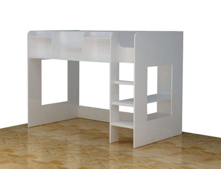 Flair Furnishings Wizard Junior White High Sleeper Bed By