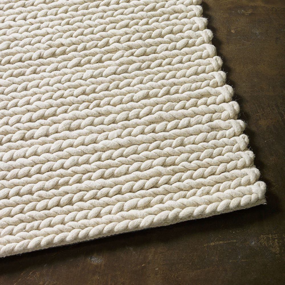 The Rug Collection Rope Weave Ivory Rugs In 2019