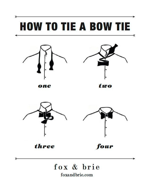 How To Tie A Bow Tie Bow Tie Instructions Pinterest Floral Bow Tie