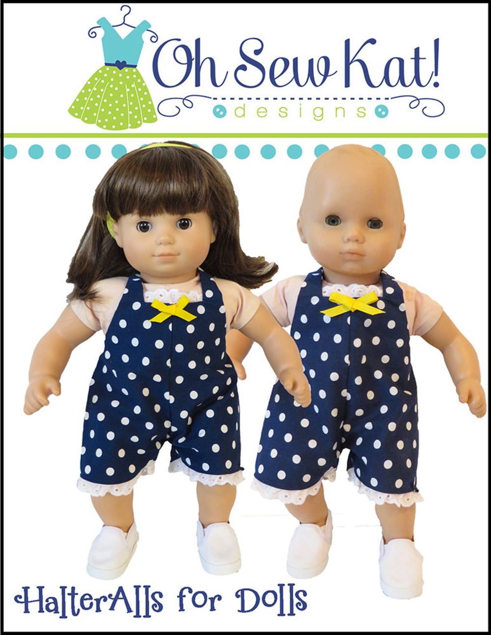 Baby Doll Clothes Sewing Pattern 15 Inch Dolls Like Bitty Baby Twins Baby Halteralls Boy Doll Romper Overalls Doll Clothes Printable Pdf In 2020 Bitty Baby Clothes Baby Shorts Pattern Baby