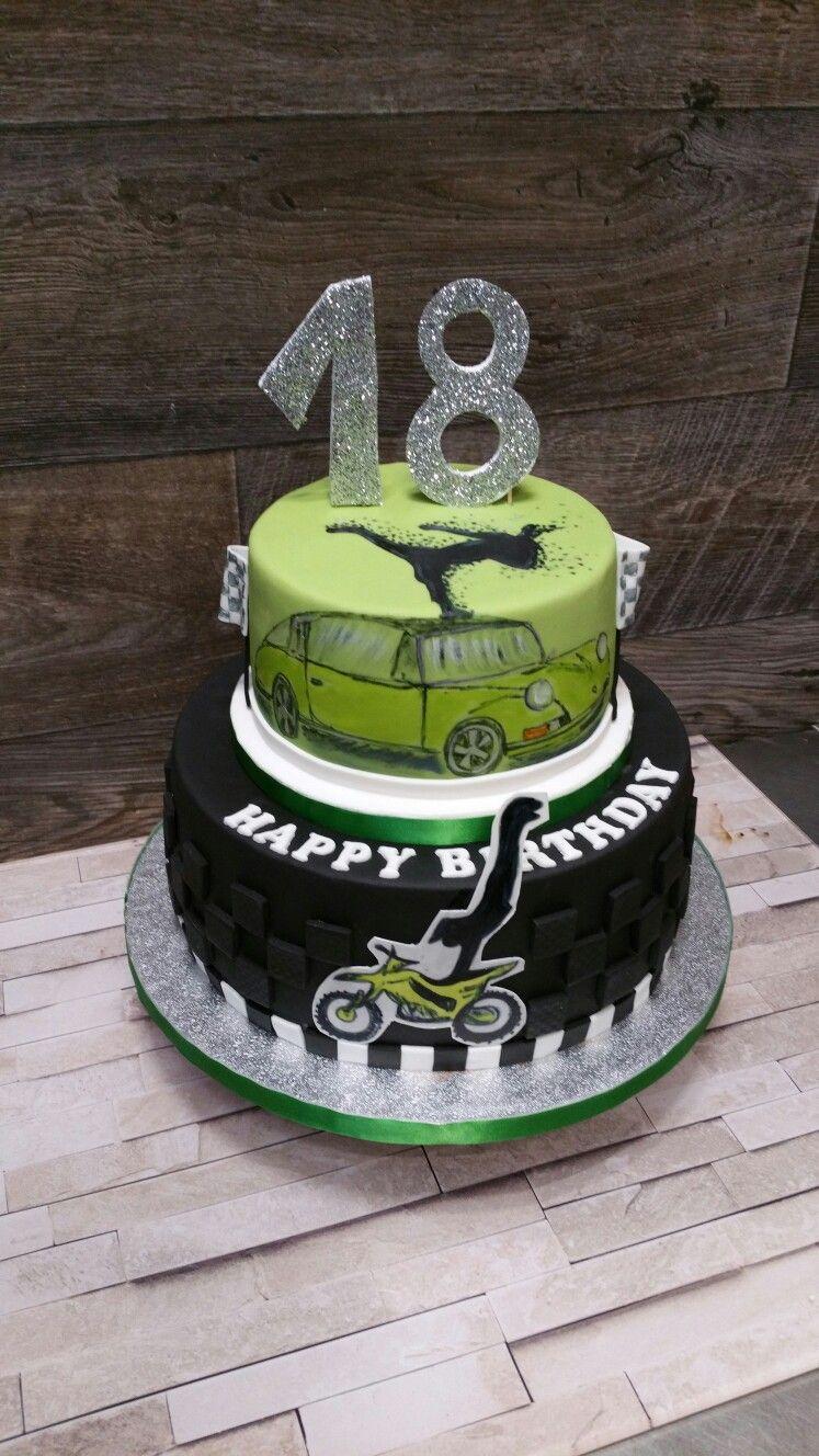 18 geburtstag torte lustig