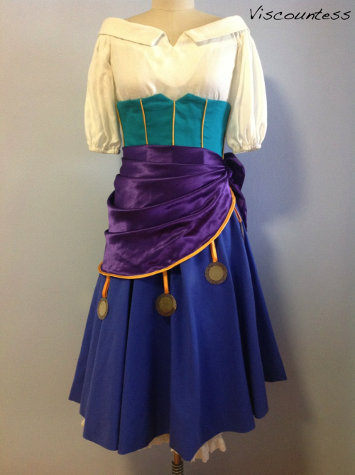 esmeralda dress notes disney costume tutorials pinterest d guisement esmeralda costume