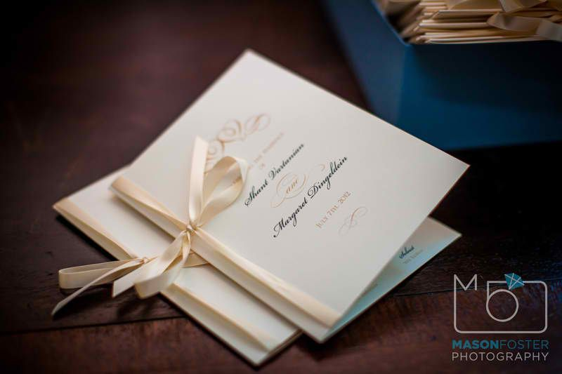 missalette   By Mason Foster | Shant and Margie Wedding