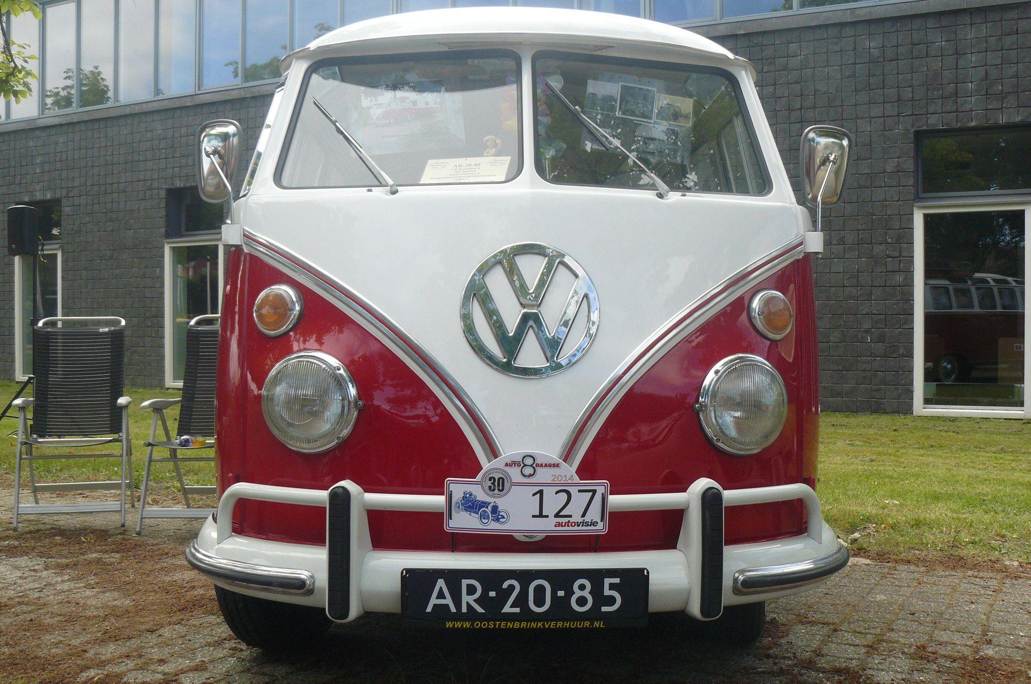 1965 Volkswagen T1 Samba Front Vw Bus Volkswagen