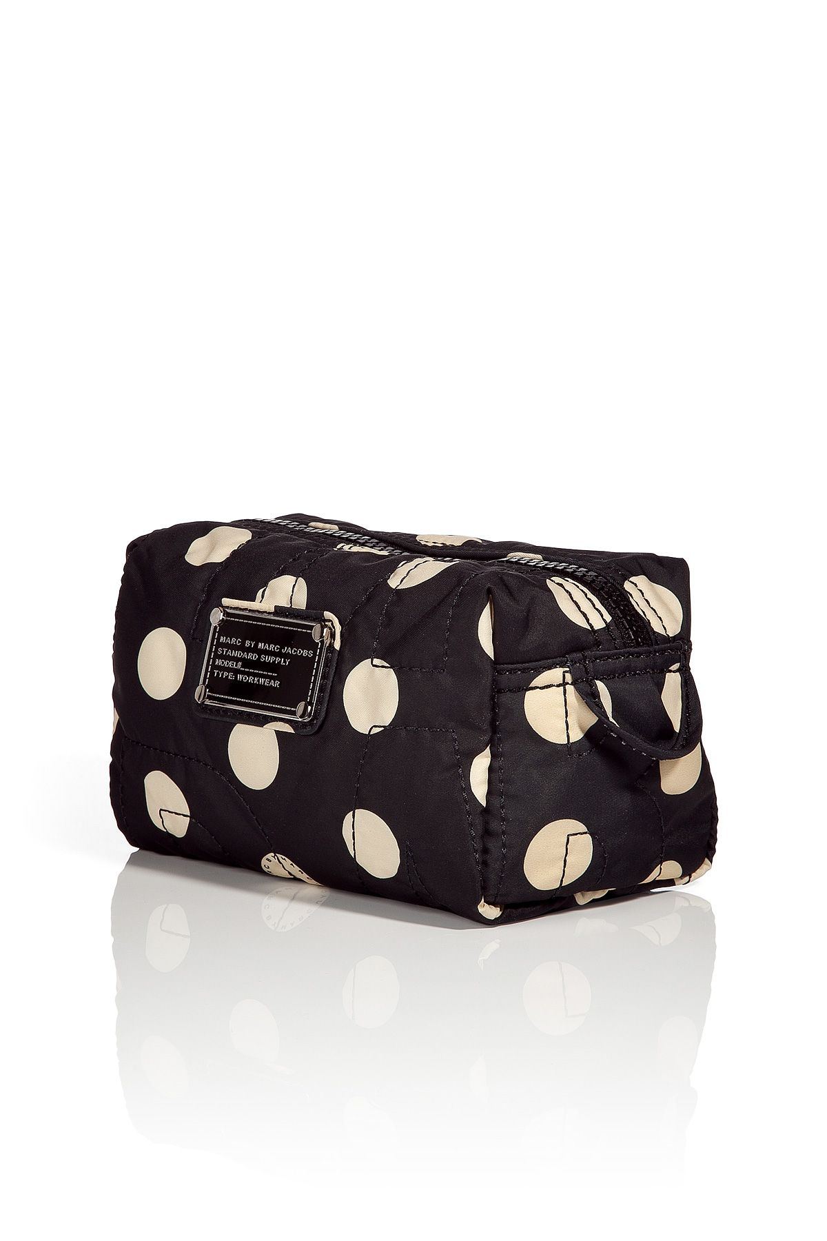 marc jacobs cosmetic bag / polka dots and Marc my
