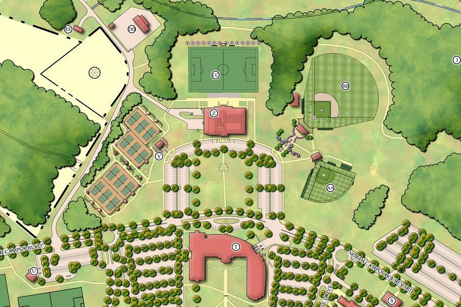 University of South Carolina Upstate Athletic Facility Master Plan