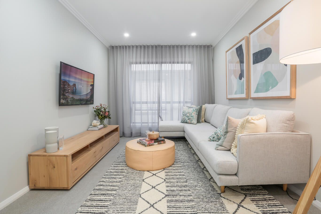 This Is A 3m X 4m Living Room Similar Layout To The Kids Living Room But Shorter Tv Wall Spa Luxury Living Room Design Living Room Decor Apartment Lounge Room X living room ideas