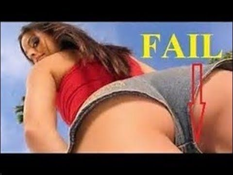 Funny girl fails sexy