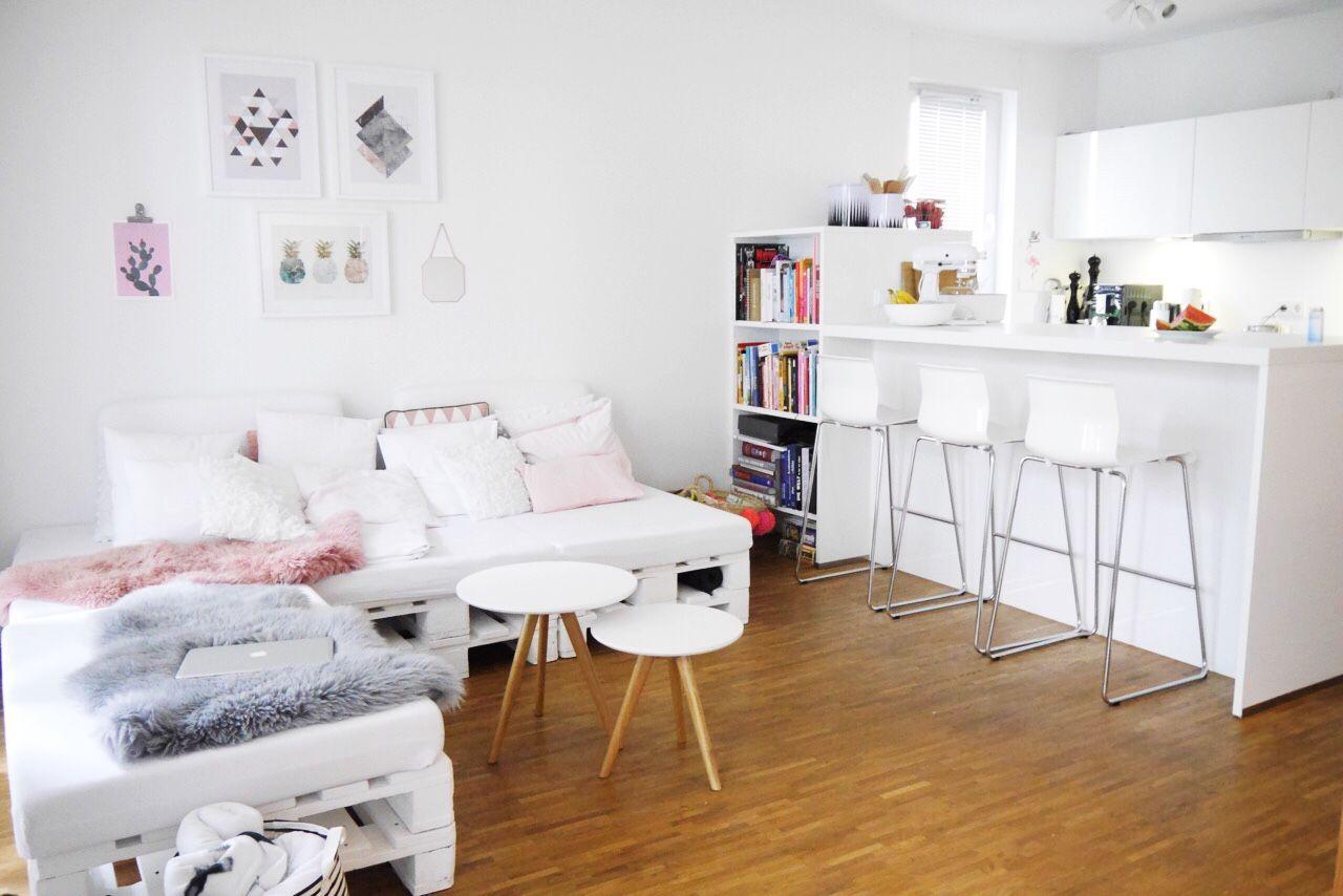 Wohnideen weiße möbel inspiration minimenschleininspiration  instagram