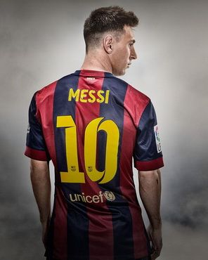 4c2b11c2e279b Camiseta MESSI del Barcelona Primera 2014-2015 baratas