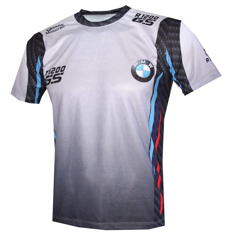 29a50cd9d81c BMW Motorrad R 1200 GS logo 2 Motorcycle graphic designed high quality t- shirt