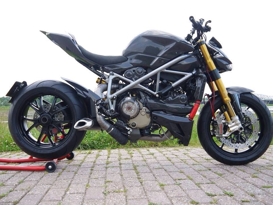 Ducati Streetfighter  Undertail Exhaust