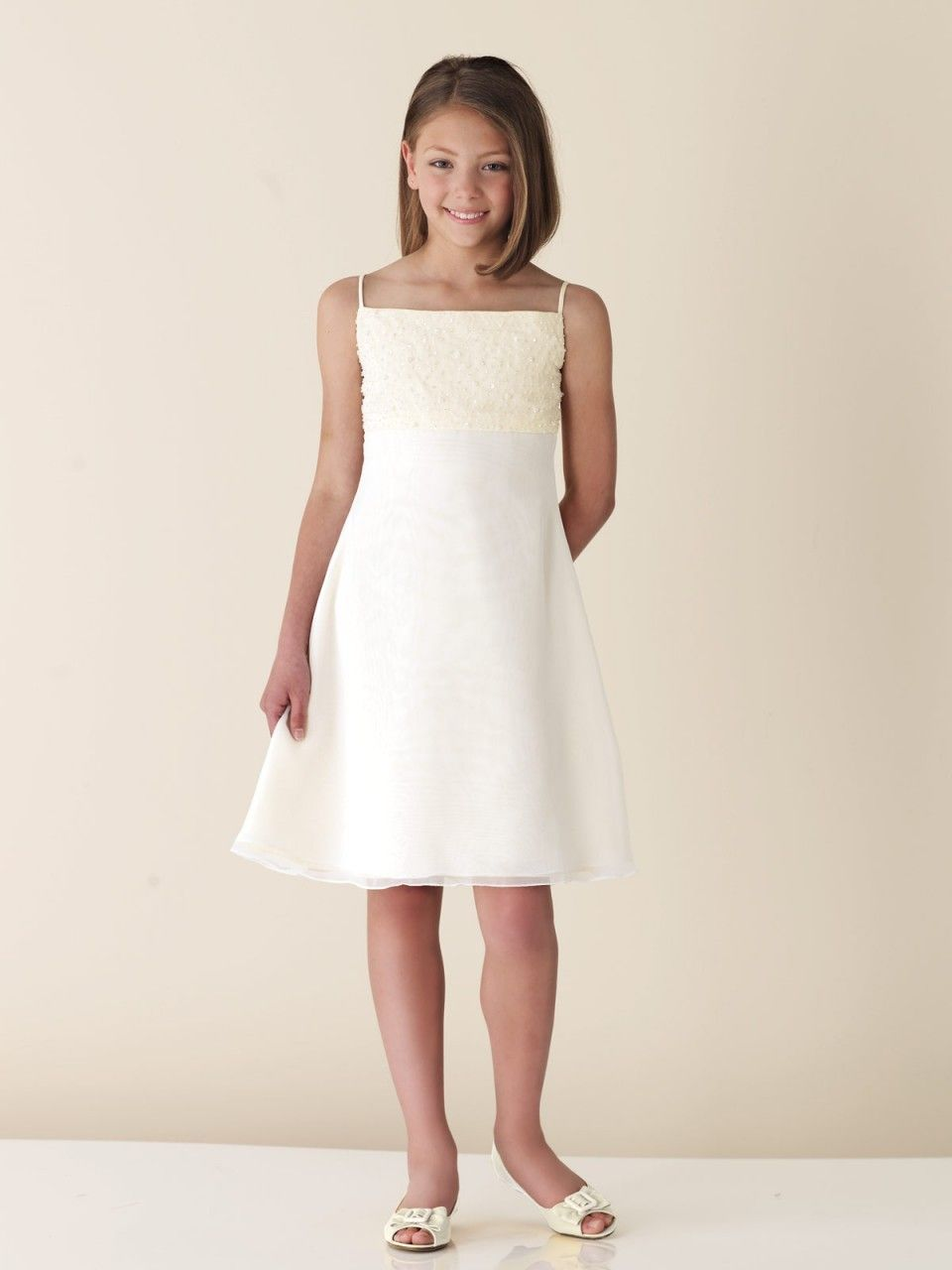 Joan calabrese for mon cheri flower girl dresses