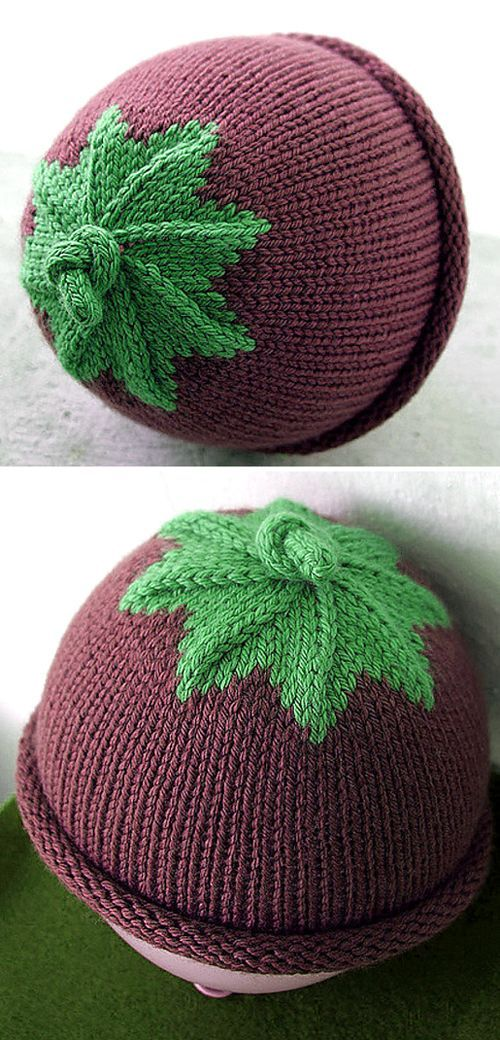 Berry Baby Hat Free Pattern | Baby hat free pattern, Baby ...