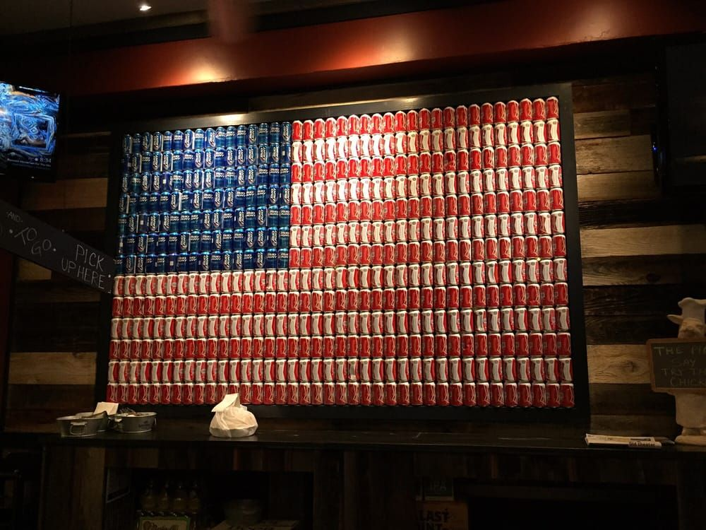 Image Result For Beer Can Wall Display Cans
