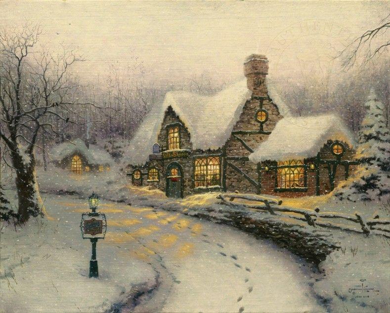 Olde Porterfield Gift Shoppe | The Thomas Kinkade Company