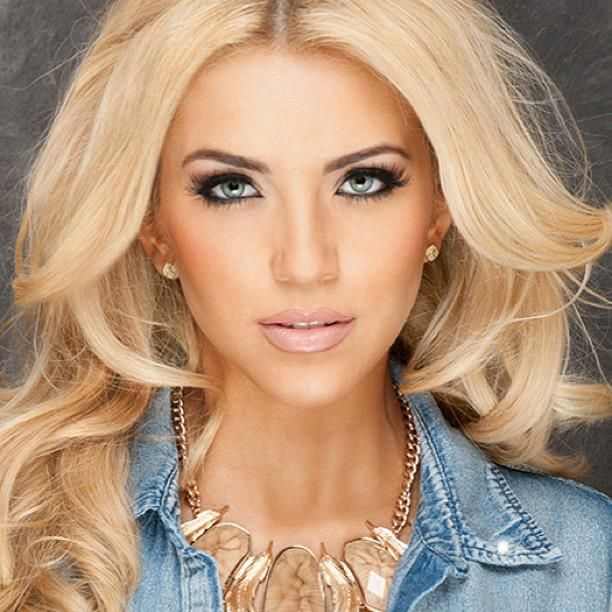 Blonde Hair On Hispanics Women Miss Usa 2013 Contestants