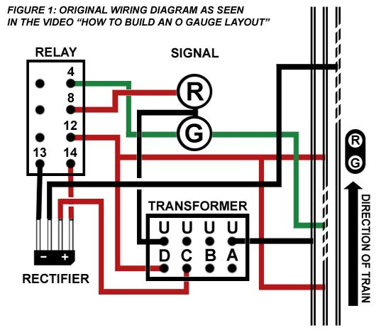 Installing An Automatic Block System Electrical Circuit Diagram Relay Wire