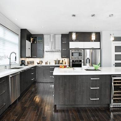 Magie noire et blanche dans la cuisine in 2018 Idée décoration
