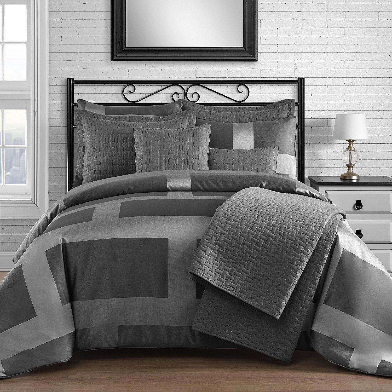 Best Grey King Bedding Comforter Sets Bedroom Comforter Sets 400 x 300