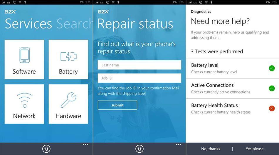 B2X-SMARTAPP – L'app ufficiale dell'assistenza Lumia arriva sul Windows Store! http://www.sapereweb.it/b2x-smartapp-lapp-ufficiale-dellassistenza-lumia-arriva-sul-windows-store/ B2X-SMARTAPP Microsoft da diverso tempo ha affidato il servizio di assistenza dei propri smartphone Lumia alla società B2X, l'azienda proprio in questo periodo ha rilasciato sullo Store la propria app ufficialeB2X-SMARTAPP.    (adsbygoogle = window.adsbygoogle || [])...