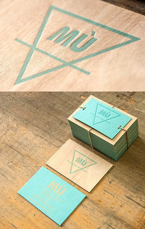 Unusual letterpress printed wooden business card design unusual letterpress printed wooden business card reheart Choice Image