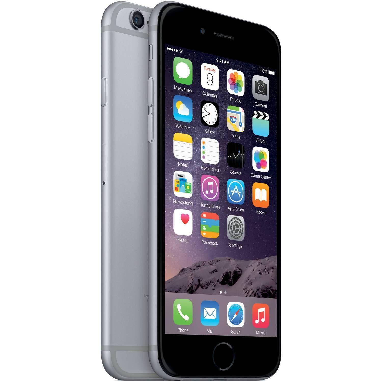 Straight Talk Apple iPhone 6 32GB Prepaid Smartphone Space Gray