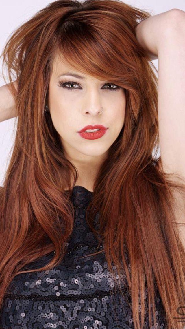 Hair Color Side Fringe Hairstyles Long Hair Styles Hair Styles