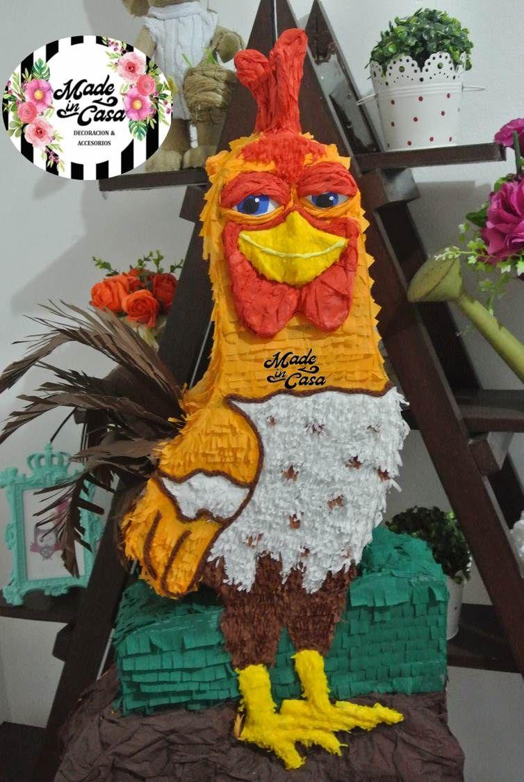 Piñata Bartolito Granja De Zenon Barnyard Birthday Party Barnyard Birthday Kids Party Themes