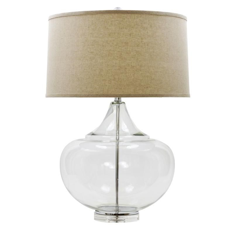Mamba Clear Glass Table Lamp Clear Glass Table Lamp Table Lamp Lamp