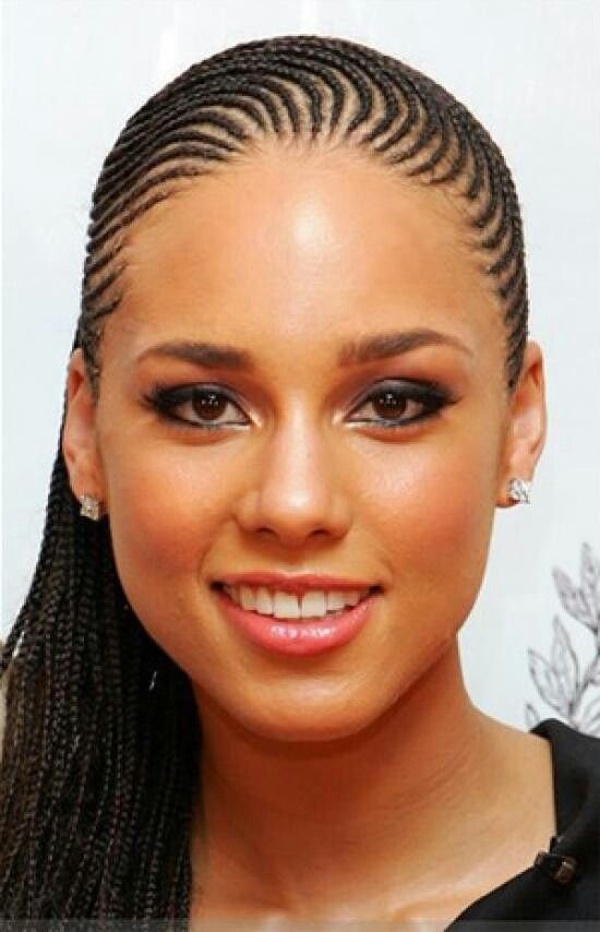 Alicia Keys Braids Cornrow Hairstyles Hair Styles 2014 Natural Hair Styles