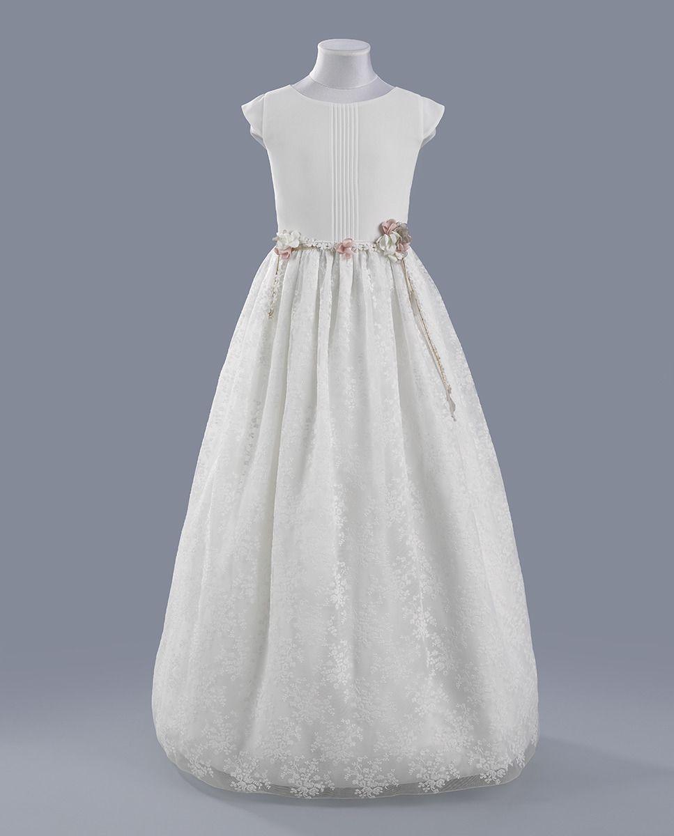 dc2d7bd05 Vestido de comunión Mia · Tizzas · Moda · El Corte Inglés | Vestidos ...