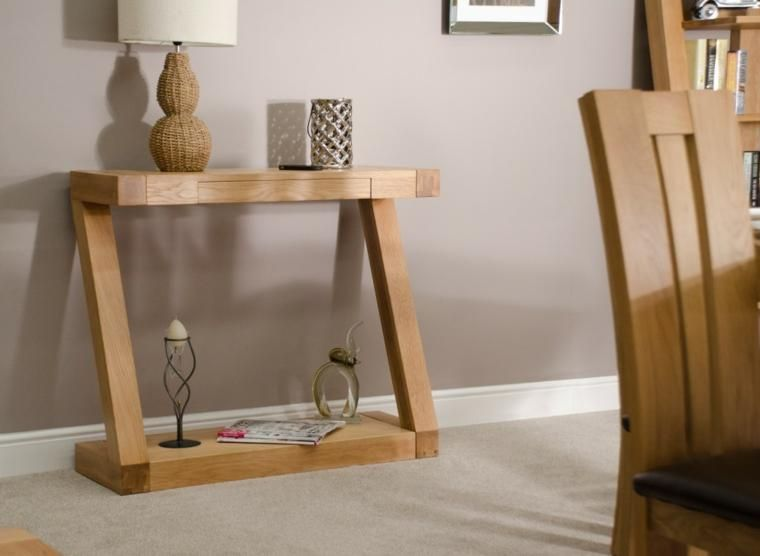 Elegant Small Narrow Hall Table