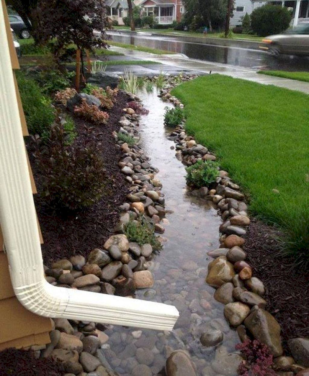 62 Beautiful Front Yard Rock Garden Ideas is part of Garden, Yard landscaping, Front yard, Backyard, Backyard landscaping, Backyard garden - Common rock garden plants grow naturally on high mountains, where they need to stand up to harsh conditions such as intense sun, high winds, and drought  In fact, rock gardens are gaining popularity, as they can bring a modern element… Continue Reading →